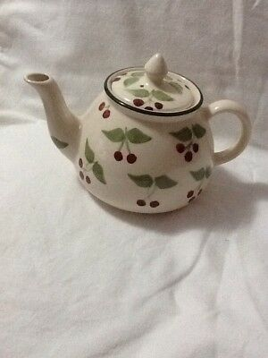 Laura Ashley Small Teapot Tea For One Size Berries Pattern