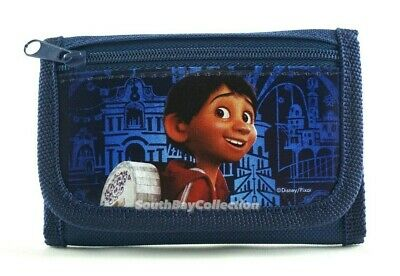 COCO Movie Kids Wallet for Boys Girls Trifold Miguel Hector Festive Skull Guitar