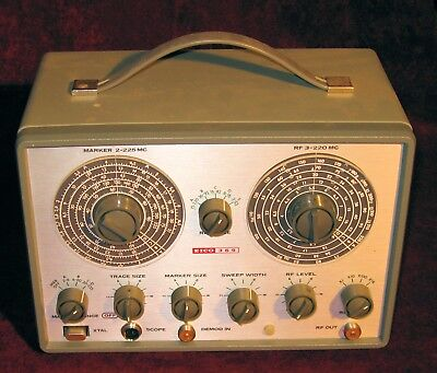 Eico 369 TV/FM Sweep and Marker Generator Cool Vintage Equipment