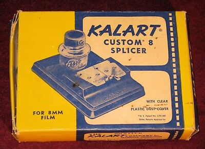 Kalart Custom 8 mm Film Splicer w/ Original Box Cool Vintage Equipment D-2