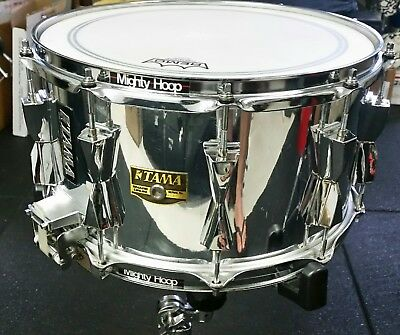 """TAMA 14 x 8"""" Chrome over Birch Snare drum. Model: AW208"""