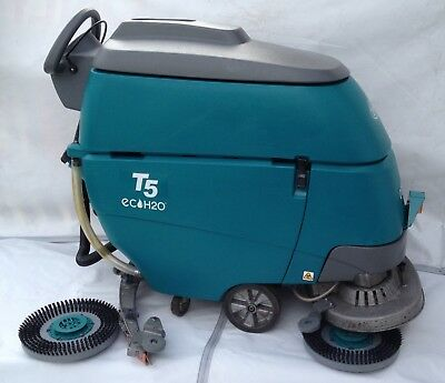 Tennant T5 Walk-Behind Auto/Traction Floor Scrubber with Echo-H20 Technology
