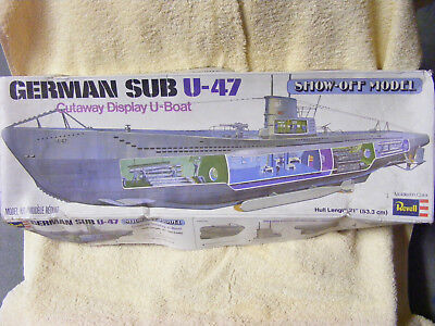 Revell U-Boot German SUB U-47 ... 53cm ... H-384 ... unverbaut