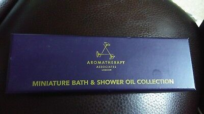 Aromatherapy Associates 9 x 3ml miniature bath & shower oil collection. New.