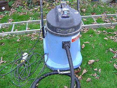 Numatic  INDUSTRIAL WET Vacuum Cleaner 110V Twin Motor 2,400W
