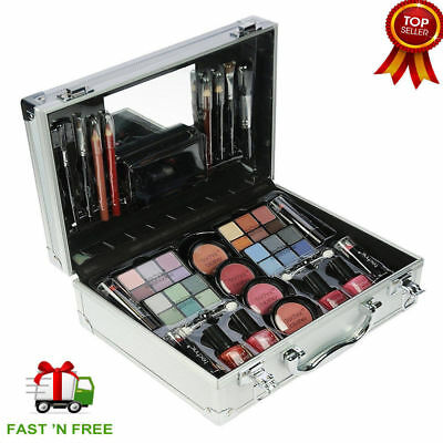 Technic Large Beauty Case Box Kit With Make Up Cosmetics Christmas Gift Travel
