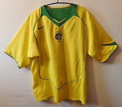 "Brasil CBF football shirt UK XL US L 48"" 122 cm Brazil 2004 - 2006"