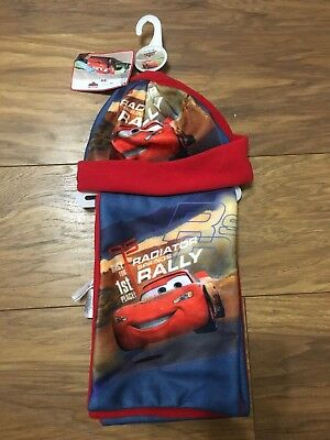 Disney Cars Hat And Scarf Set bargain price!