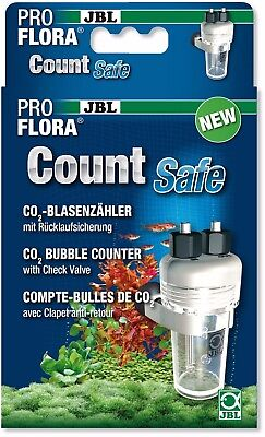 JBL ProFlora CO2 Count Safe CO2 Bubble Counter with Check Valve