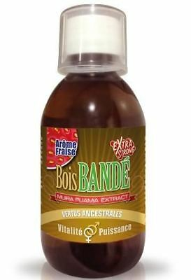 Bois Bande Extra Strong Arome Fraise - 200 ml - Divers - Aphrodisiaques - banana