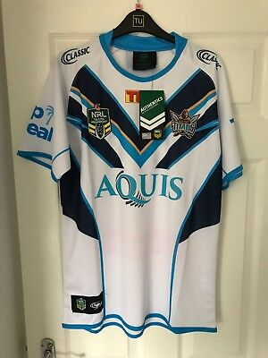 gold coast titans shirt