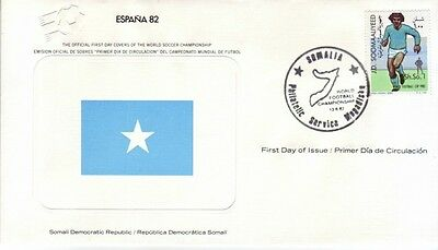 Somalia - World Cup Soccer, Spain '82 (FDC) 1982