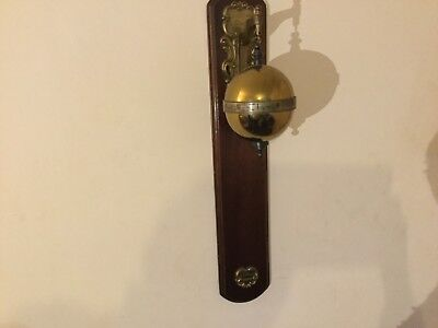 Thwaites and Reed vintage Falling ball gravity clock, with paperwork C1972
