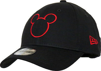 Mickey Mouse Disney Silhouette New Era 940 Kids Black Cap (Age 2 - 10 years)