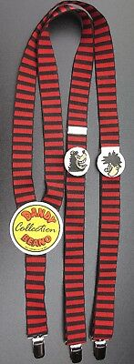 80's BEANO DANDY Collector Adult Child TROUSER BRACES Dennis Menace Gnasher Rare