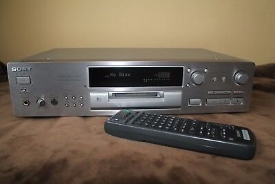 Sony Minidisc Player MDS-JB930 QS (silver) with remote