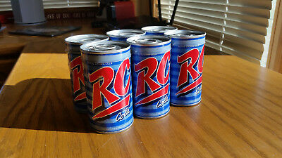 RC Cola 6 Pack With 2 Spaulding Golf Balls Per Can