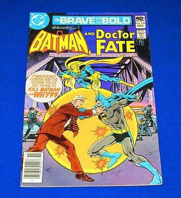 The Brave and the Bold BATMAN And DOCTOR FATE Issue #156 [DC 1979] FN/VF