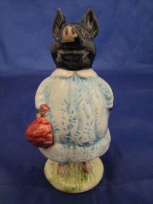 Beswick Rare Beatrix Potter Figure PIG WIG Bp 3b issued 1974-1985