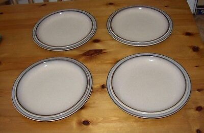 Denby four dinner plates in Rondo or Sonnet