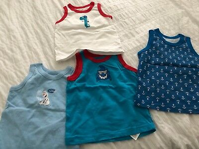 Boys Vests 18-24 Months