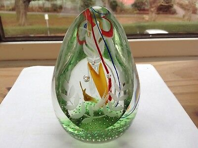 "Unique Caithness Paperweight ""The Race"" Olympics Athlete Athletics Xmas Present"