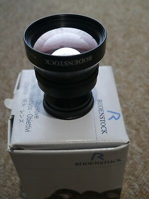 Rodenstock apo rodagon-n 150mm f4 mint condition enlarger lens rare