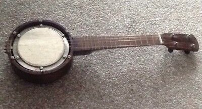 Antique banjo ukele for Restoration. Banjolele .