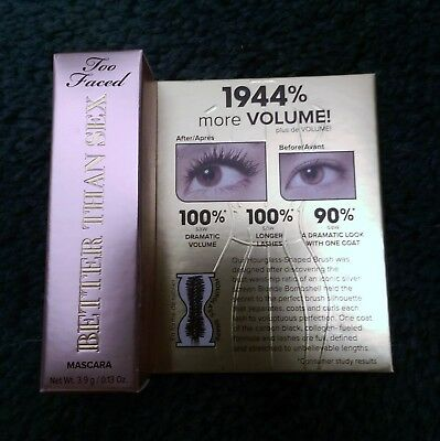 Too Faced Better than Sex Mascara - 3.9g - new and boxed
