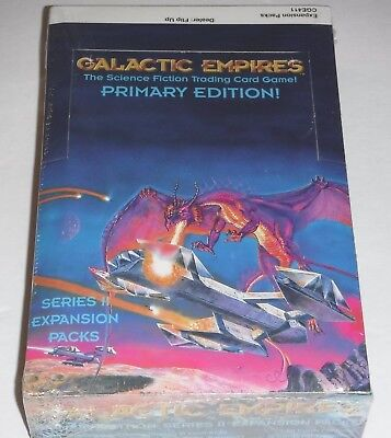 Galactic Empires CCG Series 2 Primary Edition Booster Box Factory Sealed