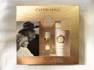 Nib Faith Hill Soul To Soul Perfume And Body Lotion