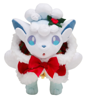 Pokemon  Plush doll Alola Vulpix Christmas 2017 japan New anime