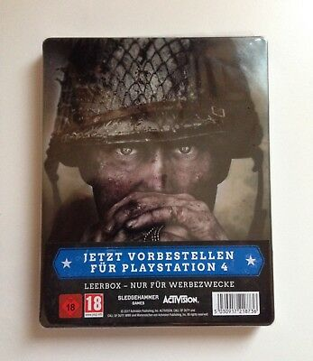 Call Of Duty WW2 Steelbook Steelcase Neu Ps4 Xbox one