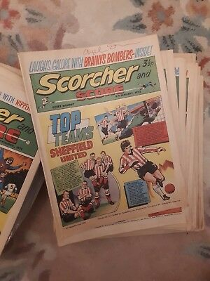 Scorcher and score comics sold individually or how many you need  £4.99 each