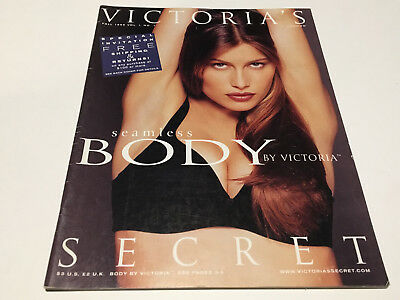 Victoria's Secret Body by Victoria Fall Issue 1999 Catalog - 87 Pages