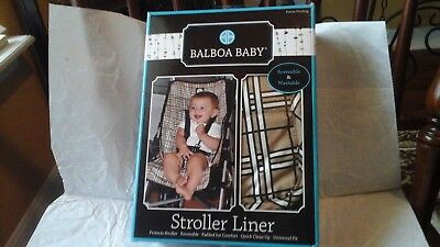 New In Box Baby Stroller Liner, By Balboa Baby, Check Pictures