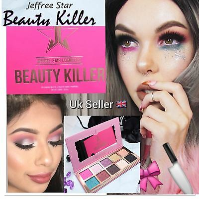 New  Palette Eyeshadow Jeffree Star Beauty Killer Eye Shadow  Makeup 10Color Uk