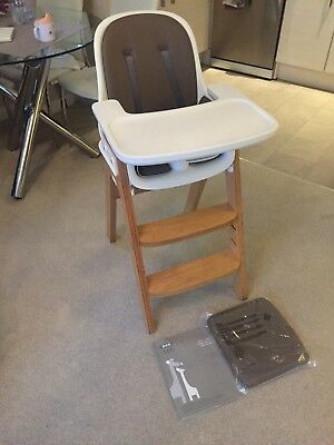 Oxo Tot Sprout taupe/birch Highchair