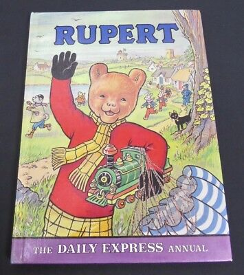 Vintage Rupert Annual 1976, Unclipped, Unmarked Puzzles, Incl. Golliwog Story