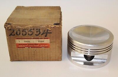 Old Stock Continental O470-7, O-470-11 Piston, Cessna Bird Dog, PN 531510