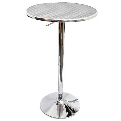 Vino Adjustable Cafe Bar Table High Stool Table Man Cave Home Kitchen Table NEW