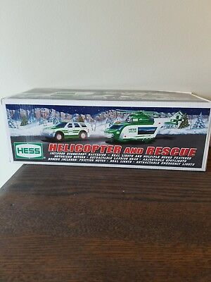 New, Never Played With,  2012 Hess Truck Helicopter And Rescue