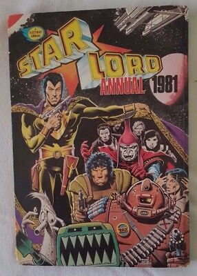 Star Lord Annual 1981 (2000AD) Not clipped