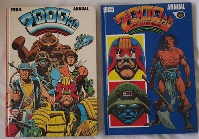 2000AD Annuals 1984 & 1985 Not clipped