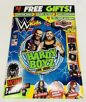 WWE Kids Magazine #128 - AMAZING FREE GIFTS INSIDE! (NEW)