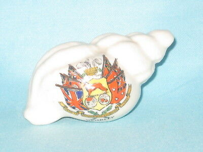 Savoy China Whelk Shell - BRITISH EMPIRE EXHIBITION 1924 crest