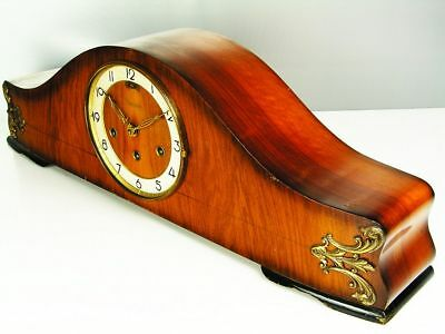 Beautiful Art Deco Westminster Chiming Mantel Clock From  Resoanker Germany