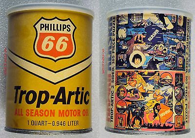 PHILLIPS 66 TROP ARTIC New Sealed 1973 Alaska Hawaii Puzzle165 pieces 'oil can'