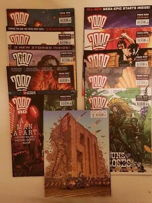 2000AD Progs 1500-1510 11 Issues