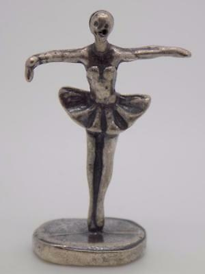 Vintage Solid Silver Italian Made Zombie Dancer ;-) Miniature, Figurine, Stamped